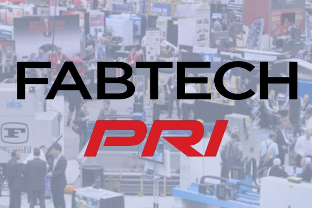 Two Shows Coming up: FABTECH & PRI