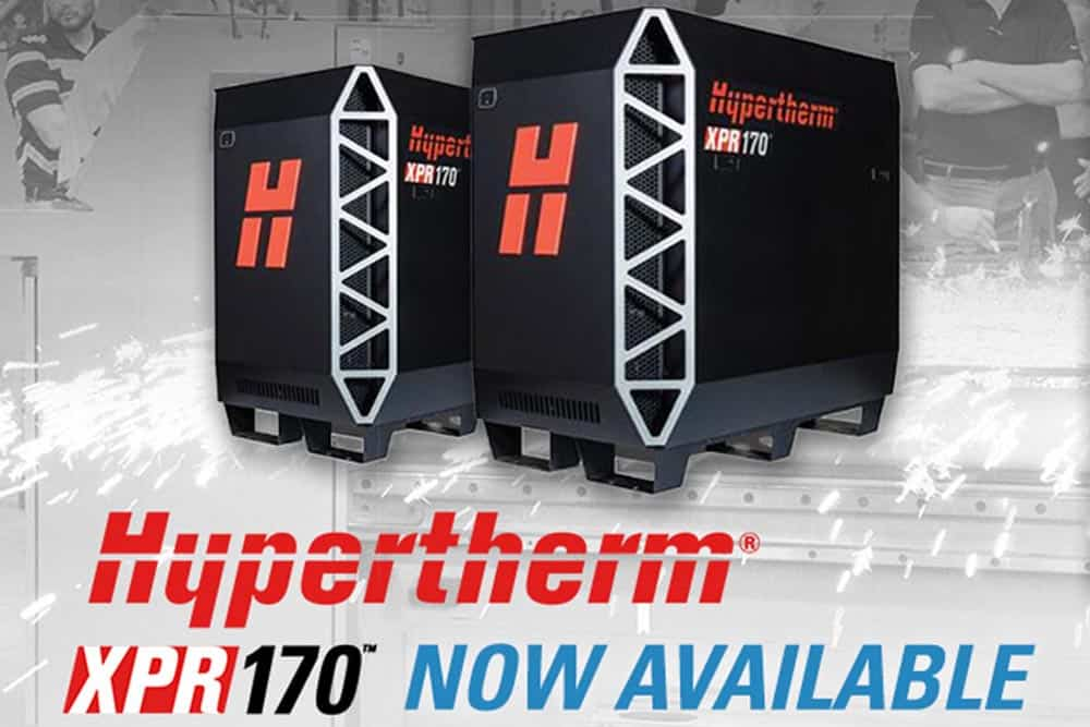 Hypertherm North America #XPR170 Now Available